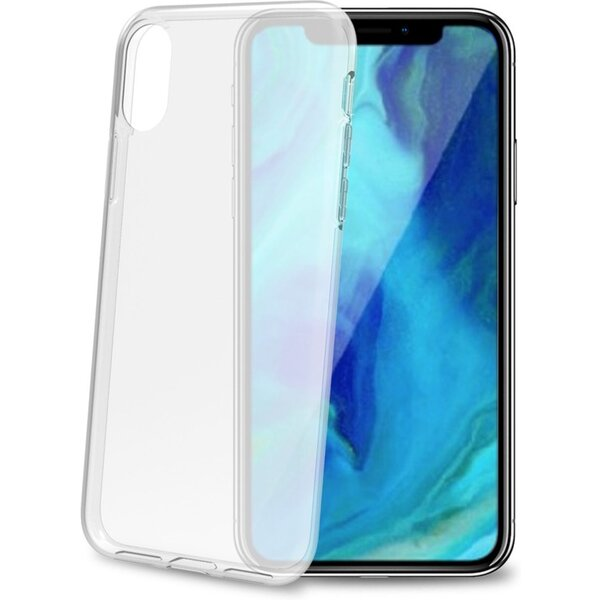 CELLY Gelskin TPU pouzdro Apple iPhone XS Max čiré