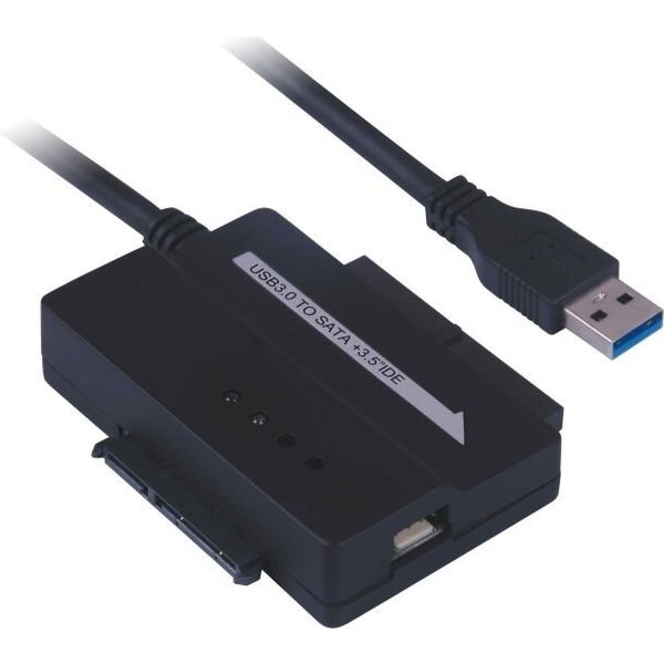 PremiumCord USB 3.0 - SATA + IDE adaptér s kabelem