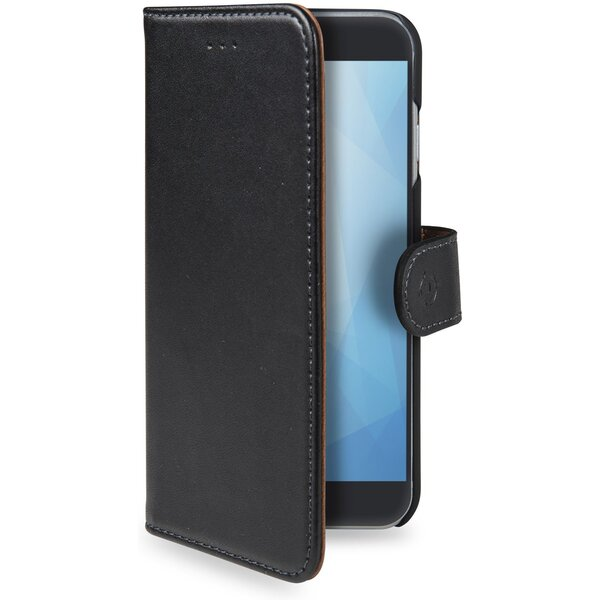 CELLY Wally flip pouzdro Apple iPhone XR černé