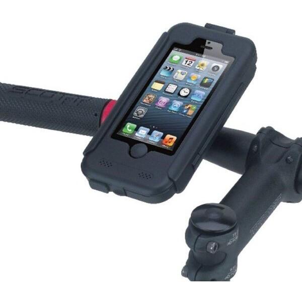 BikeConsole držák na iPhone 5 na kolo nebo motorku na řídítka IPH-205S Černá