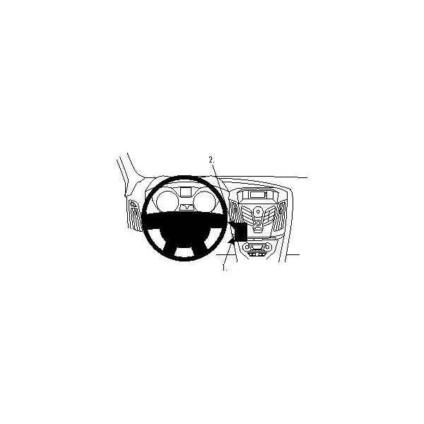 Brodit ProClip montážní konzole pro Ford Focus 12-14