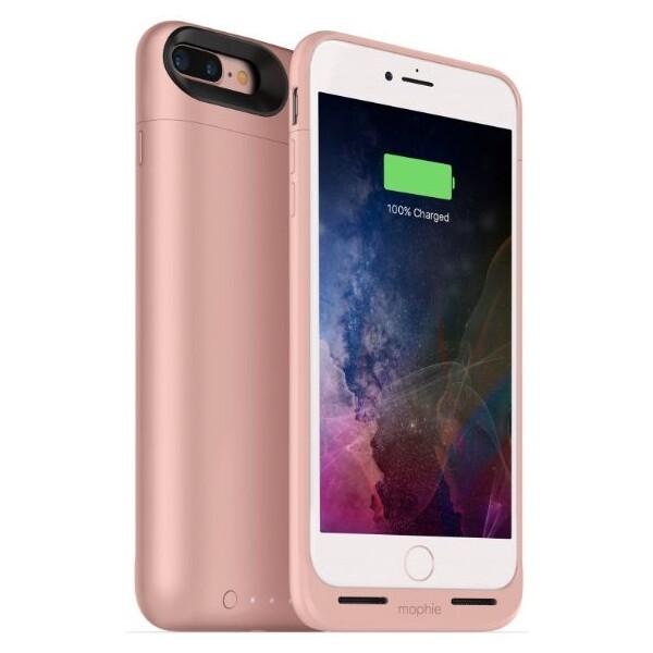Mophie Juice Pack Air pouzdro s baterií 2420 mAh Apple iPhone 7 Plus/8 Plus růžové