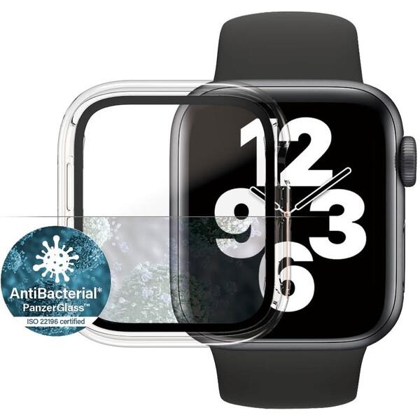 PanzerGlass Full Protection Apple Watch 4/5/6/SE 40mm čirý