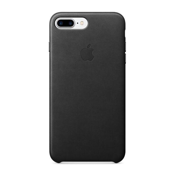 Pouzdro APPLE iPhone 7 Plus Leather Case Černá