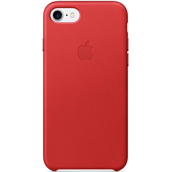 Pouzdro APPLE iPhone 7 Leather Case Červená