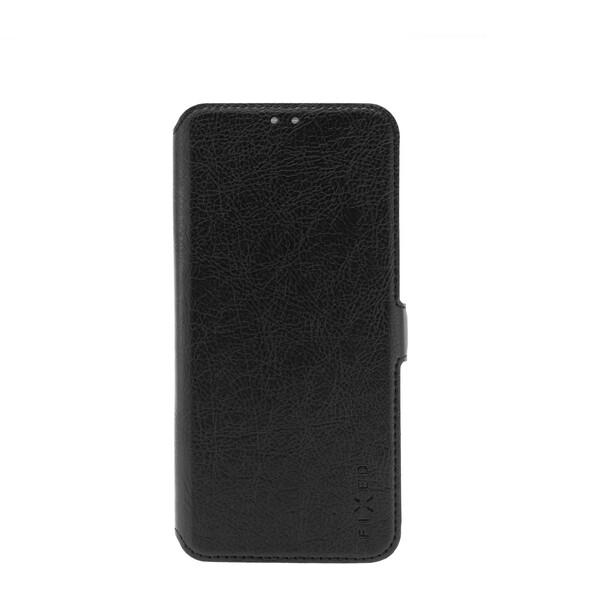 FIXED Topic tenké flip pouzdro Motorola E6 Plus černé