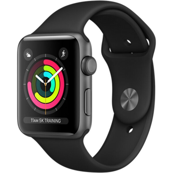 Apple Watch Series 3 42mm Vesmírně šedá