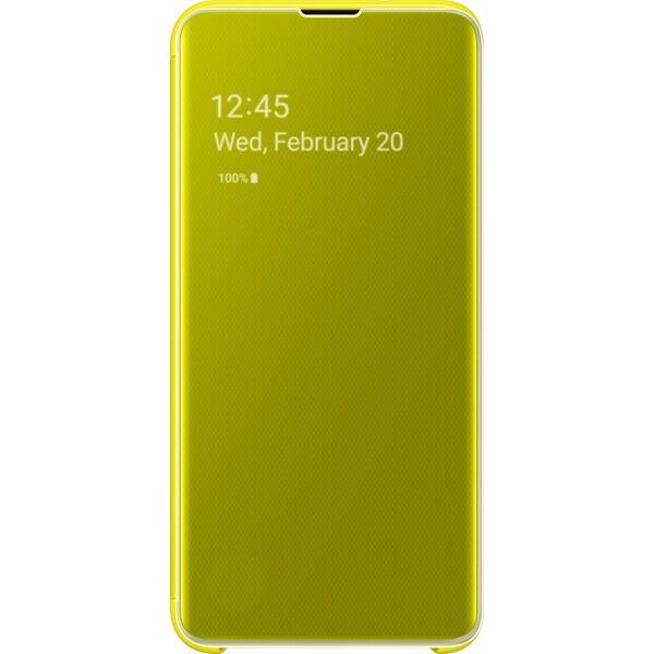 Samsung Clear View flipové pouzdro Galaxy S10e (EF-ZG970CYEGWW) žluté