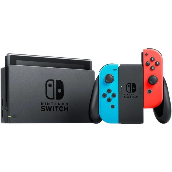 Nintendo Switch konzole červená/modrá