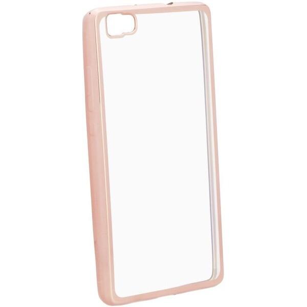 Smarty Electro TPU pouzdro Huawei P10 Lite růžové/zlaté