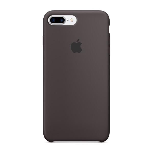 Pouzdro APPLE iPhone 7 Plus Silicone Case Kakaově hnědá