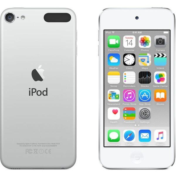 Apple iPod touch 6. generace 16GB Stříbrná