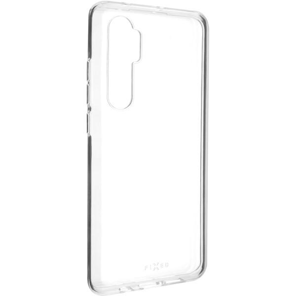 FIXED Skin ultratenké TPU pouzdro 0,6 mm Xiaomi Mi Note 10 Lite čiré