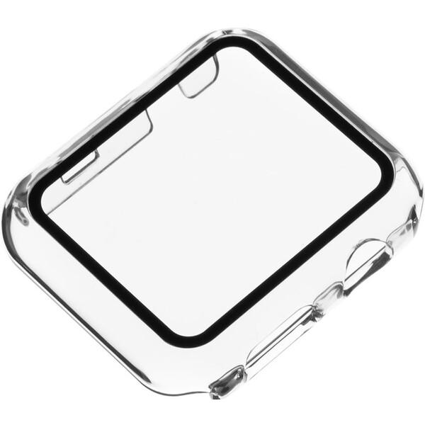 FIXED Pure ochranné pouzdro s temperovaným sklem Apple Watch 44mm čiré