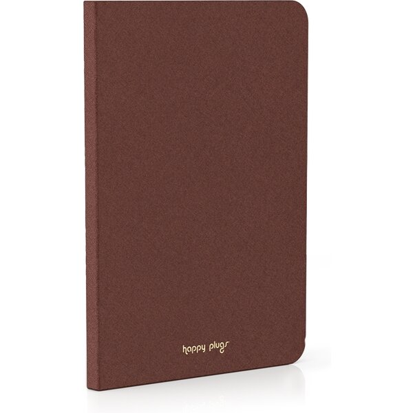 Happy Plugs Book Case obal Apple iPad Air hnědý