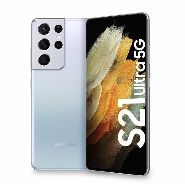 Samsung Galaxy S21 Ultra 5G 12GB/128GB stříbrný
